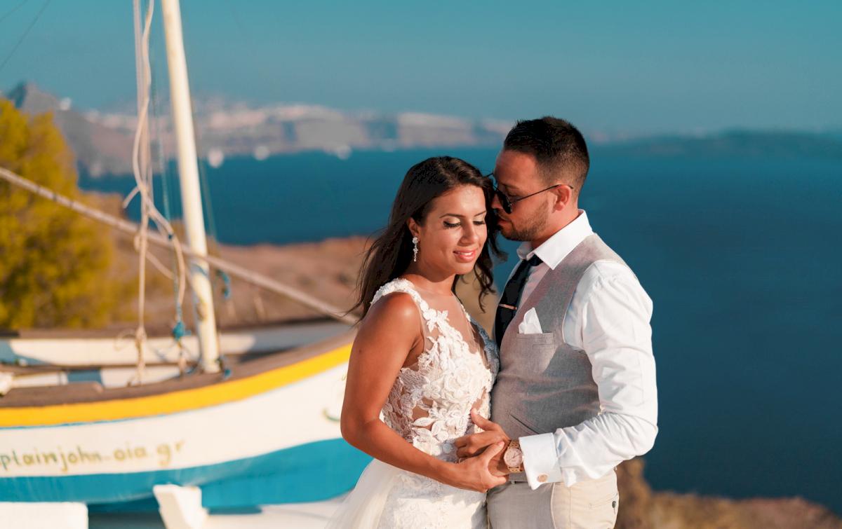 Яна и Рафаэль: свадьба на санторини, свадебное агентство Julia Veselova - Фото 14