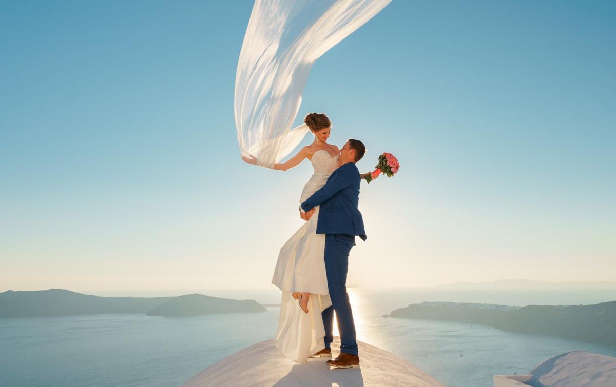 Алена и Рома: свадьба на санторини, свадебное агентство Julia Veselova - Фото 6