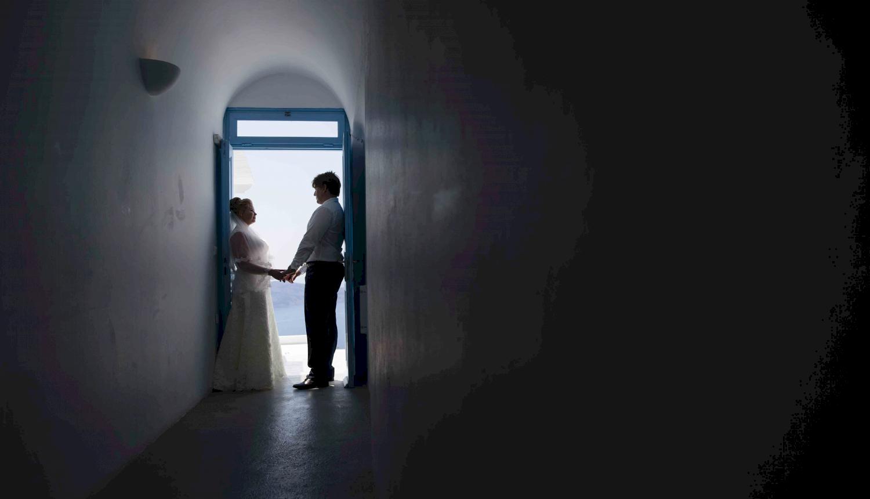 Дарья и Яков: свадьба на санторини, свадебное агентство Julia Veselova - Фото 4