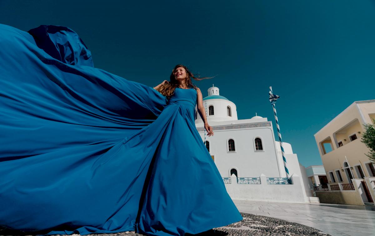 Регина Тодоренко: свадьба на санторини, свадебное агентство Julia Veselova - Фото 11