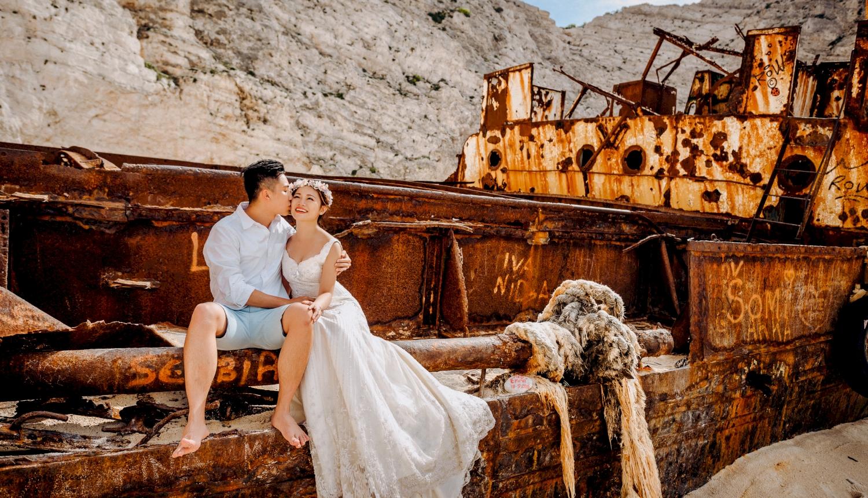 Sugar and Joe: свадьба на санторини, свадебное агентство Julia Veselova - Фото 11