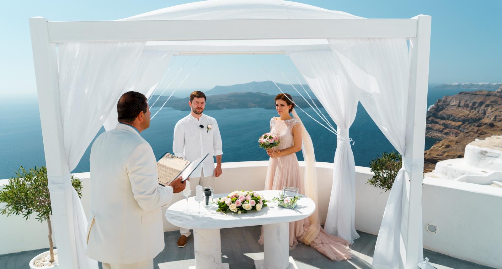 Елизавета и Павел: свадьба на санторини, свадебное агентство Julia Veselova - Фото 4