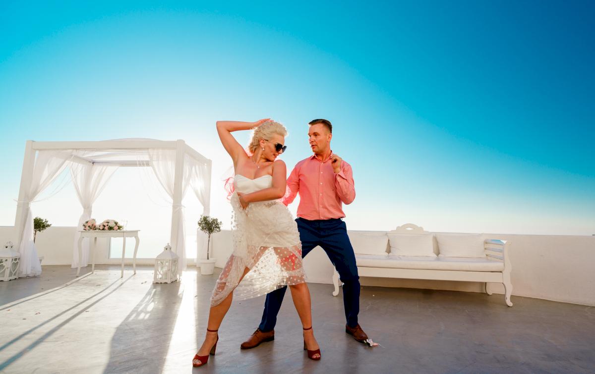 Екатерина и Андрей: свадьба на санторини, свадебное агентство Julia Veselova - Фото 6