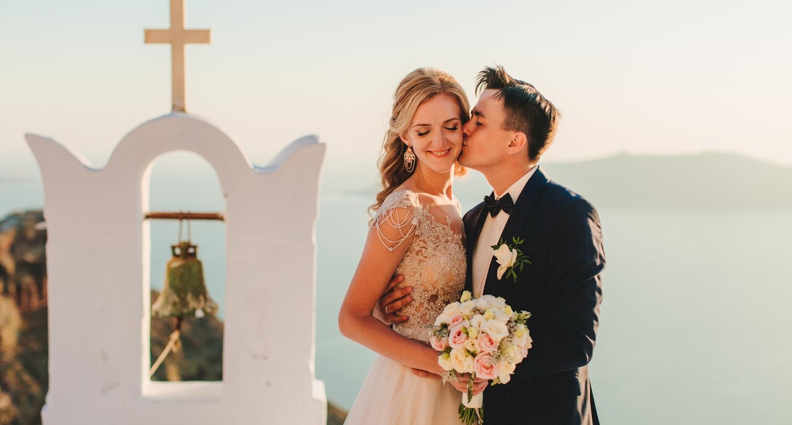 Анжелика и Роман: свадьба на санторини, свадебное агентство Julia Veselova - Фото 5