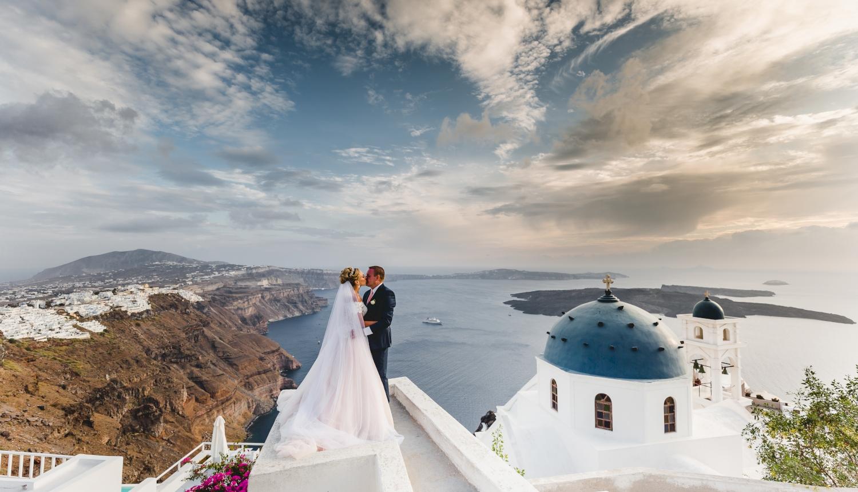Darya & Jason: свадьба на санторини, свадебное агентство Julia Veselova - Фото 7