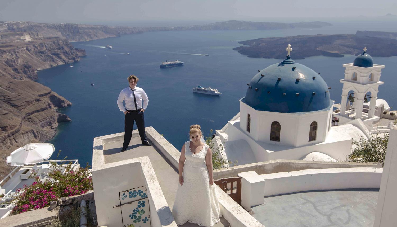 Дарья и Яков: свадьба на санторини, свадебное агентство Julia Veselova - Фото 8