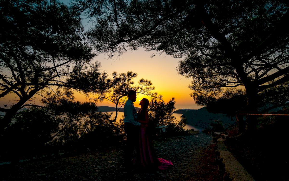 Елена и Виталик: свадьба на санторини, свадебное агентство Julia Veselova - Фото 17