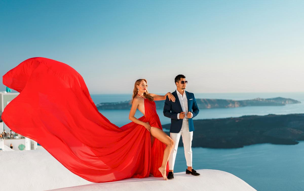 Фредди и Маргарет: свадьба на санторини, свадебное агентство Julia Veselova - Фото 5