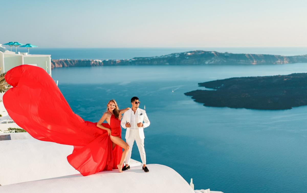 Фредди и Маргарет: свадьба на санторини, свадебное агентство Julia Veselova - Фото 6