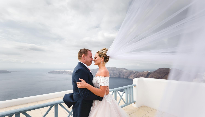 Darya & Jason: свадьба на санторини, свадебное агентство Julia Veselova - Фото 1