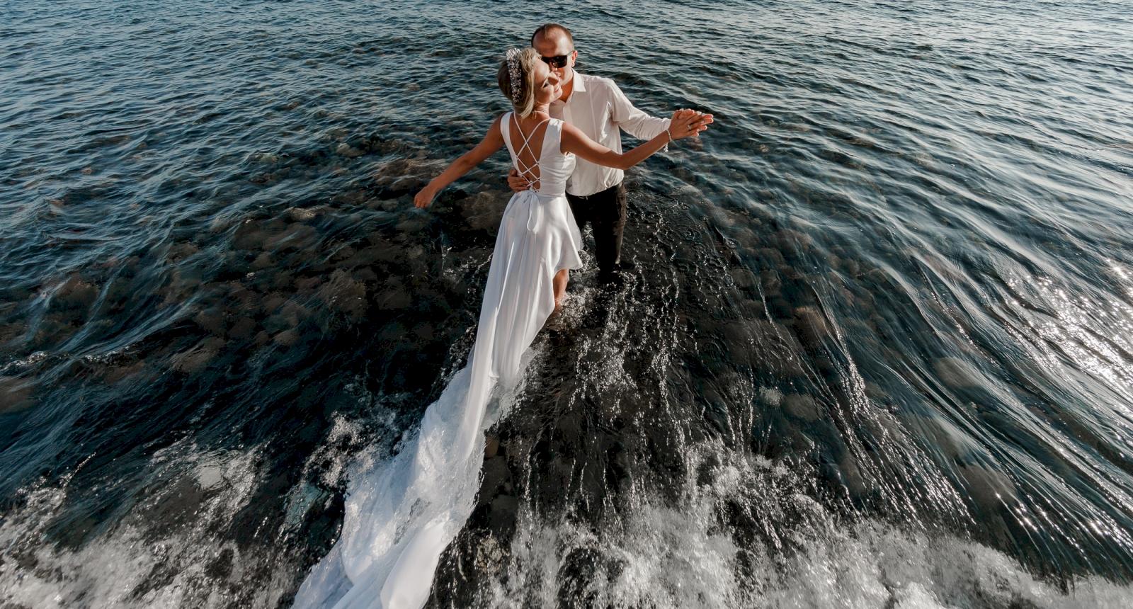 Елена и Олег: свадьба на санторини, свадебное агентство Julia Veselova - Фото 9