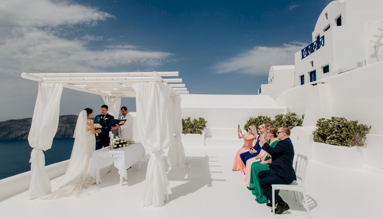 Юлия и Максим: свадьба на санторини, свадебное агентство Julia Veselova - Фото 5