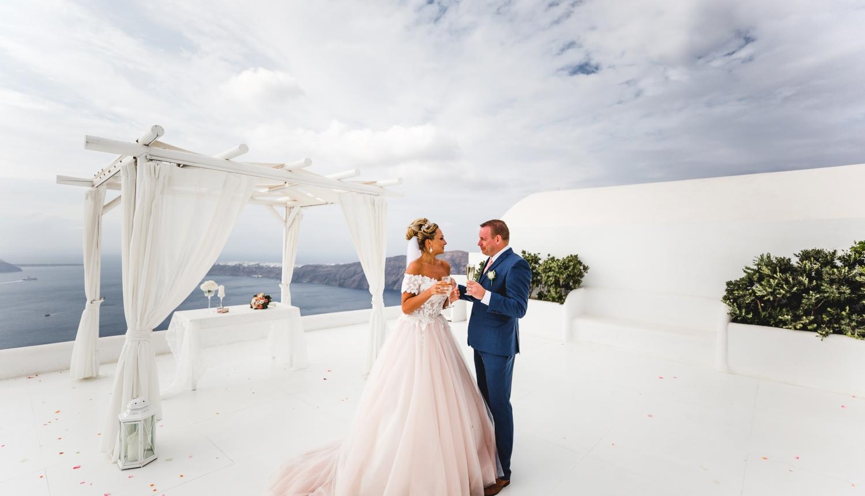 Darya & Jason: свадьба на санторини, свадебное агентство Julia Veselova - Фото 3