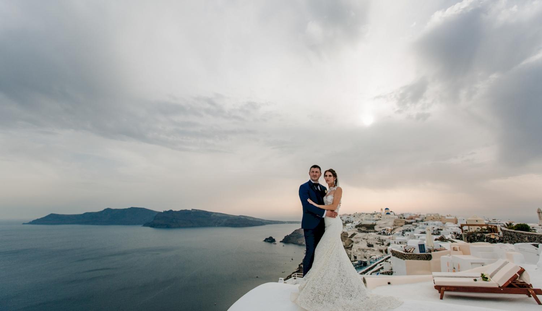 Юлия и Максим: свадьба на санторини, свадебное агентство Julia Veselova - Фото 15