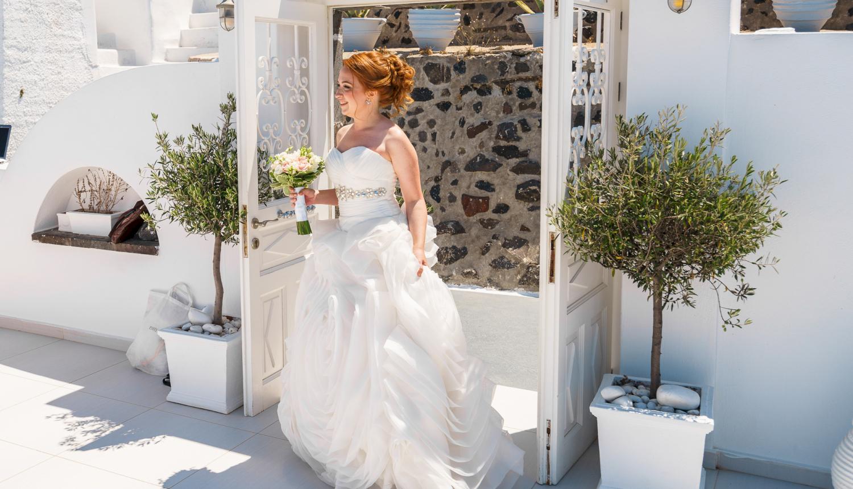 Наталья и Александр: свадьба на санторини, свадебное агентство Julia Veselova - Фото 5