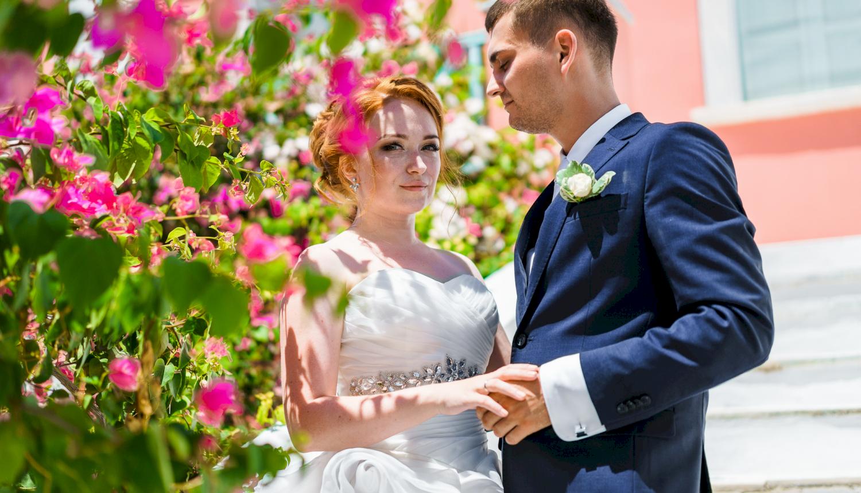 Наталья и Александр: свадьба на санторини, свадебное агентство Julia Veselova - Фото 18