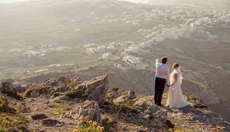 Дарья и Яков: свадьба на санторини, свадебное агентство Julia Veselova - Фото 19