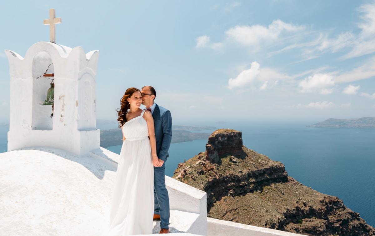 Ирина и Эдуард: свадьба на санторини, свадебное агентство Julia Veselova - Фото 8