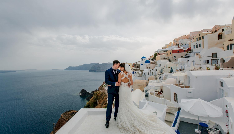 Юлия и Максим: свадьба на санторини, свадебное агентство Julia Veselova - Фото 11