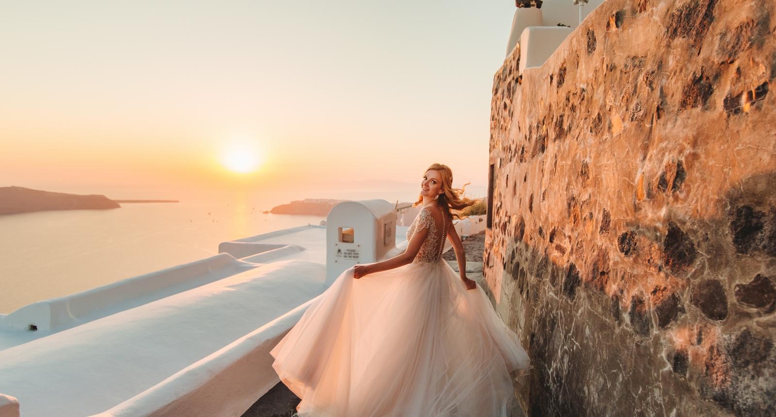 Анжелика и Роман: свадьба на санторини, свадебное агентство Julia Veselova - Фото 8