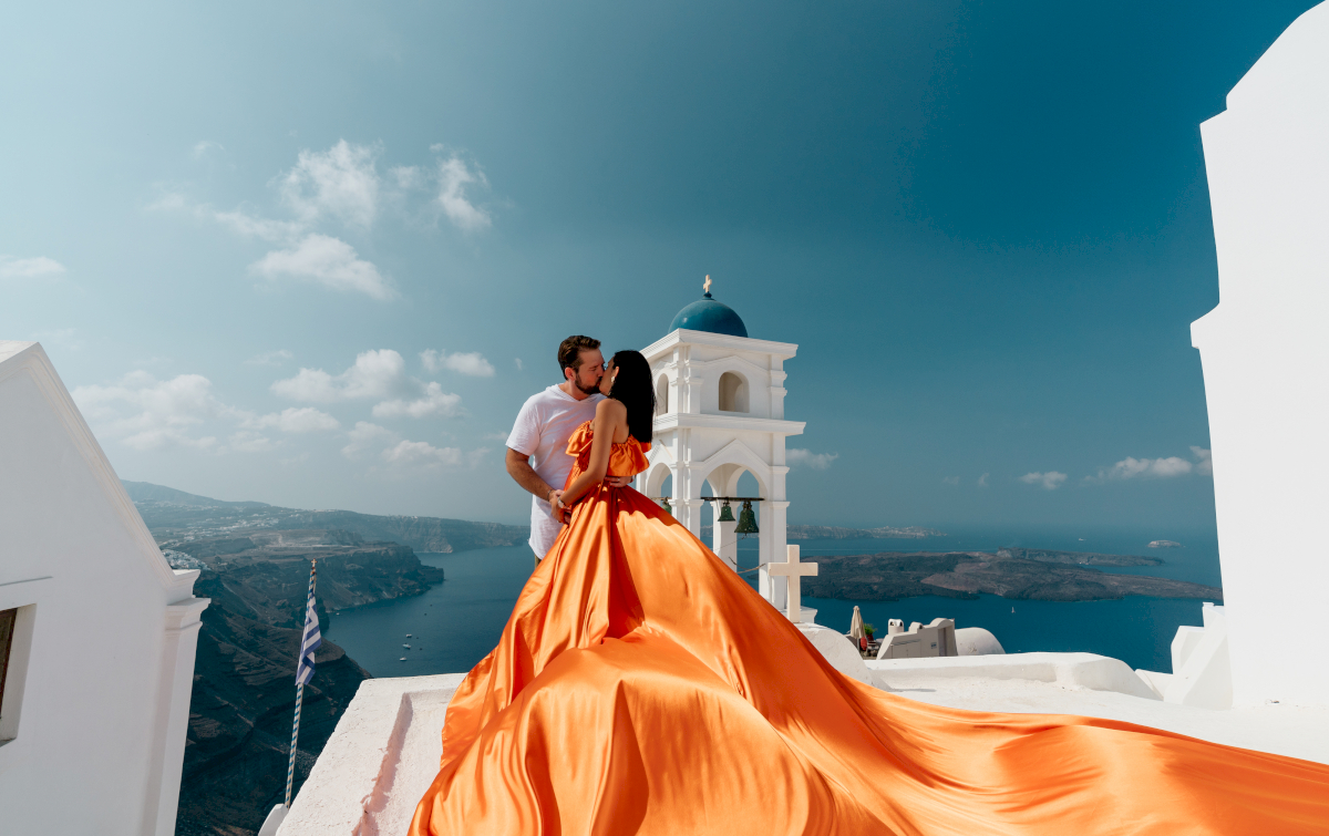 Жасмин и Эрик: свадьба на санторини, свадебное агентство Julia Veselova - Фото 13