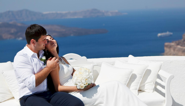 Зарина и Ованес: свадьба на санторини, свадебное агентство Julia Veselova - Фото 7