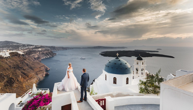 Darya & Jason: свадьба на санторини, свадебное агентство Julia Veselova - Фото 8