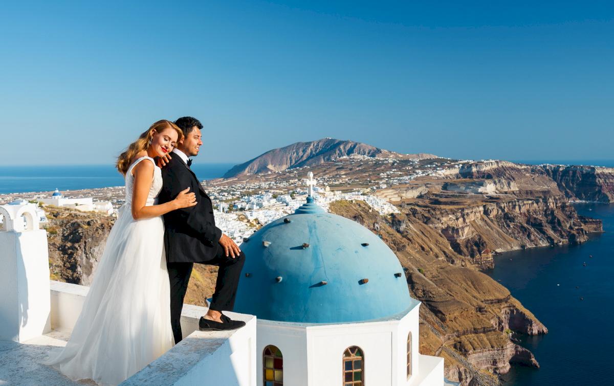 Фредди и Маргарет: свадьба на санторини, свадебное агентство Julia Veselova - Фото 10