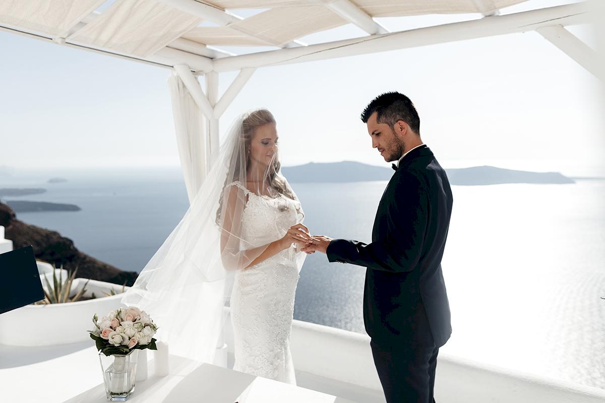 Жанна и Адриан: свадьба на санторини, свадебное агентство Julia Veselova - Фото 5