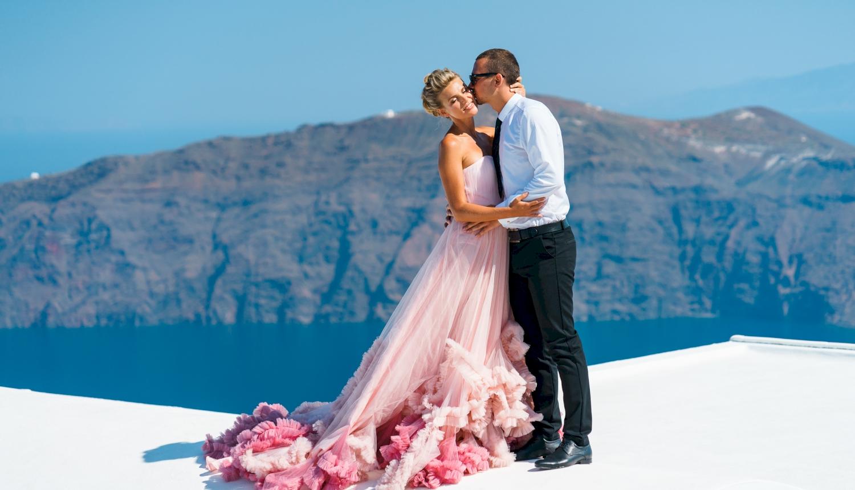 Инна и Сергей: свадьба на санторини, свадебное агентство Julia Veselova - Фото 9