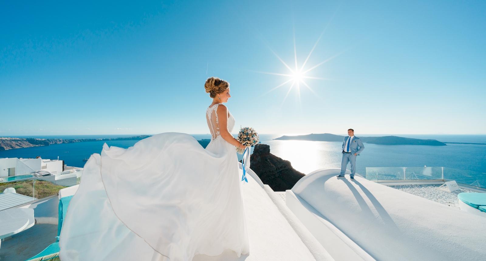 Мария и Алексей: свадьба на санторини, свадебное агентство Julia Veselova - Фото 6