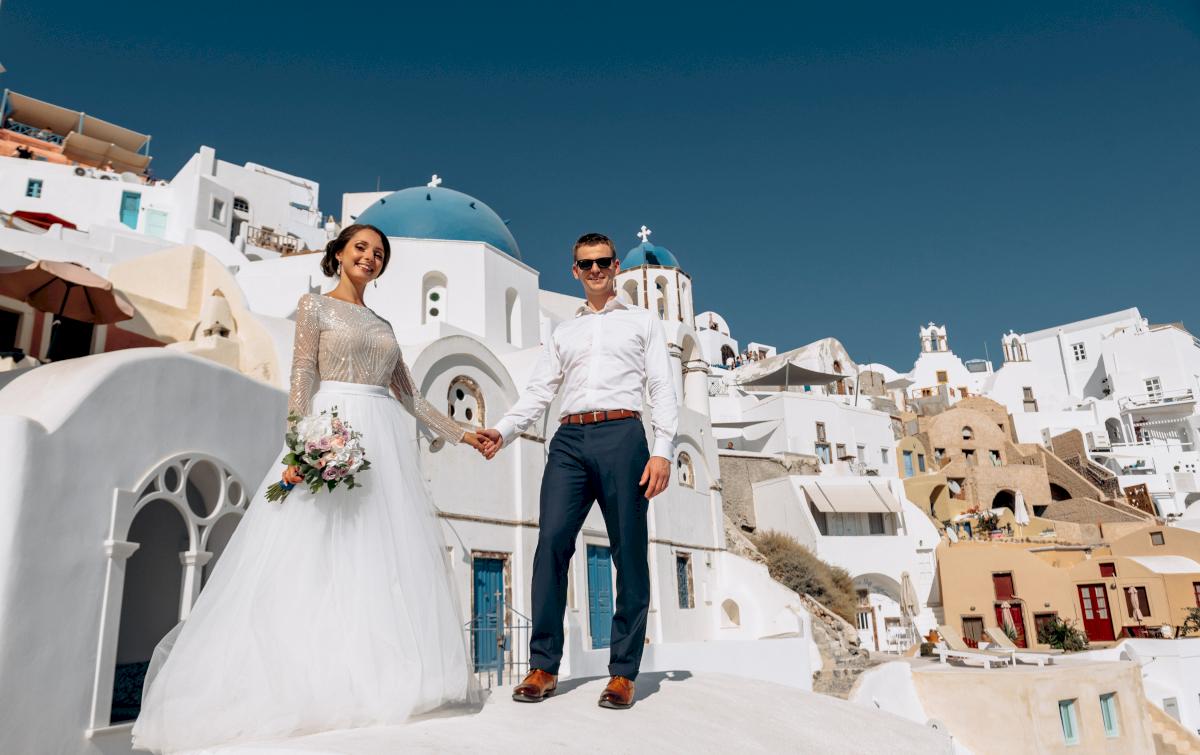 Анастасия и Иван: свадьба на санторини, свадебное агентство Julia Veselova - Фото 3