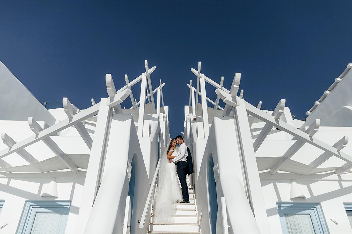 Жанна и Адриан: свадьба на санторини, свадебное агентство Julia Veselova - Фото 11