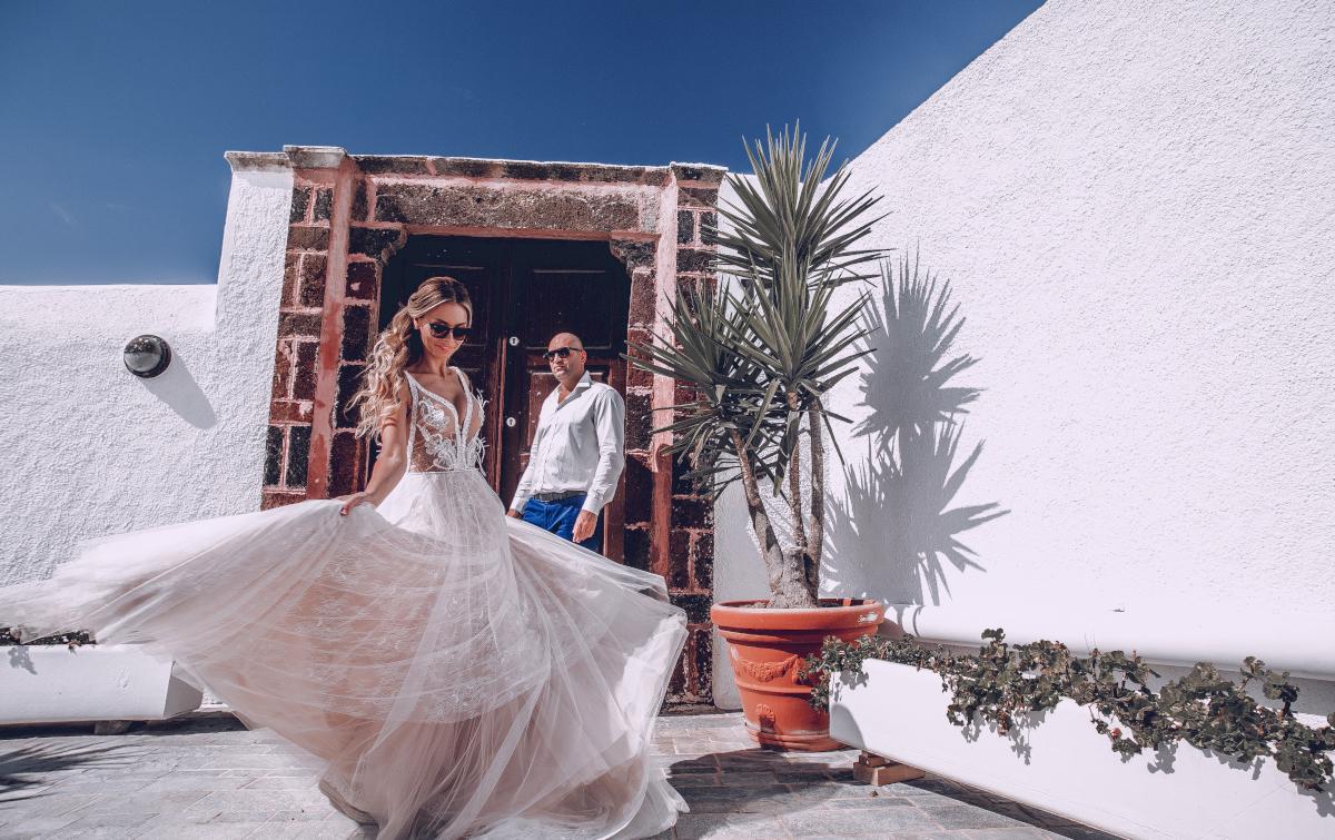 Екатерина и Артем: свадьба на санторини, свадебное агентство Julia Veselova - Фото 14