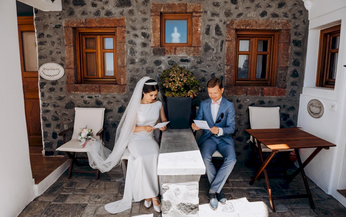 Алексей и Ольга: свадьба на санторини, свадебное агентство Julia Veselova - Фото 9