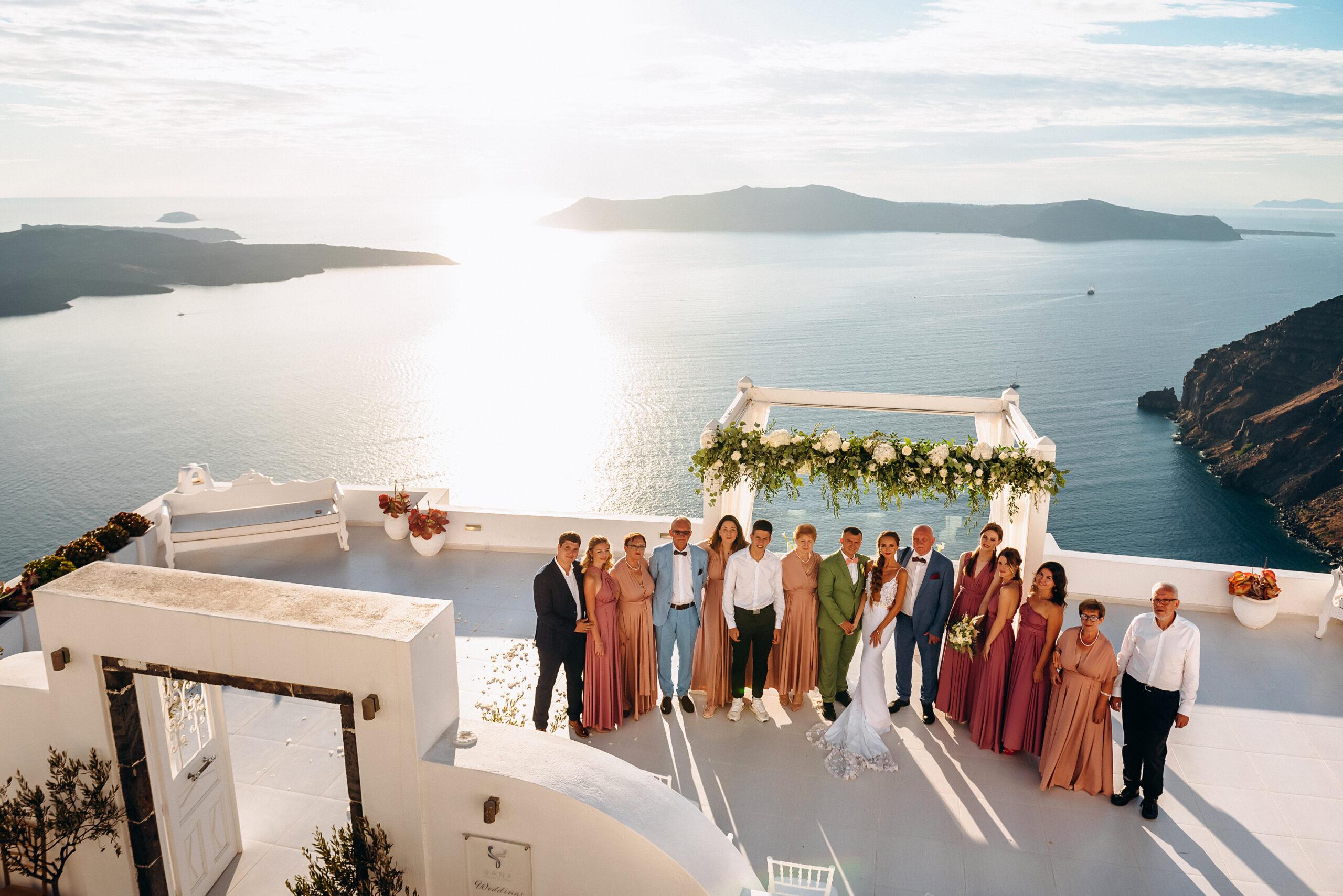 Dana Villas: свадьба на санторини, свадебное агентство Julia Veselova - Фото 1