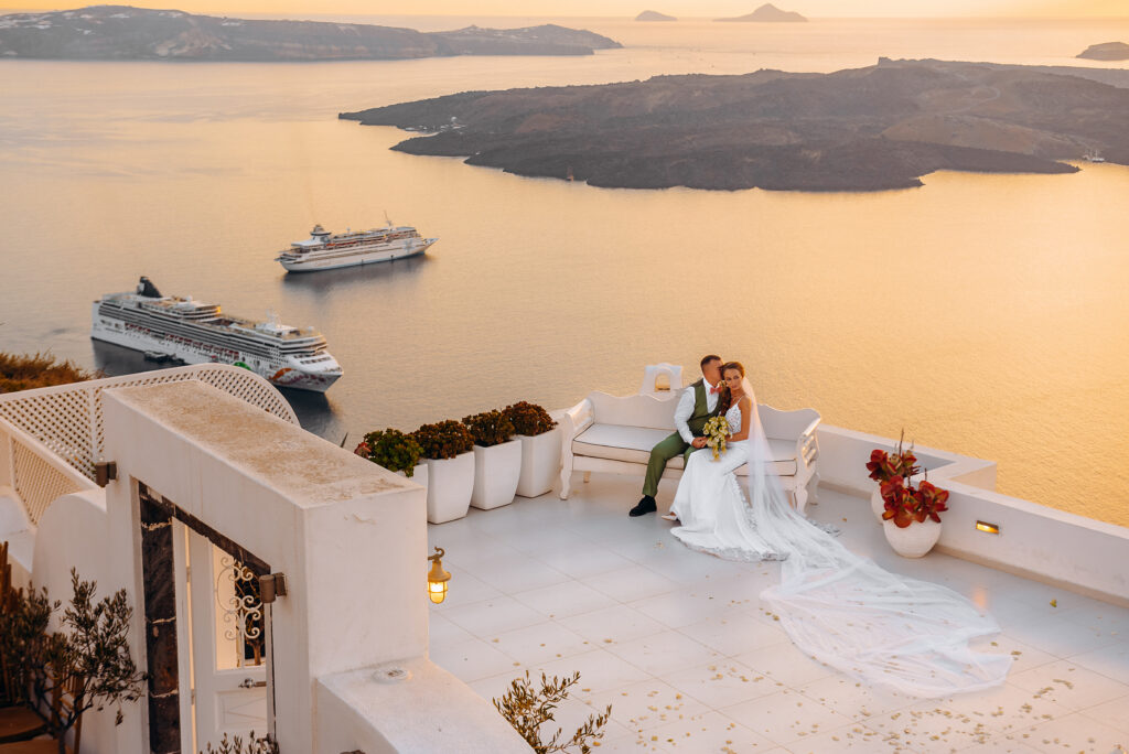 Dana Villas: свадьба на санторини, свадебное агентство Julia Veselova - Фото 2