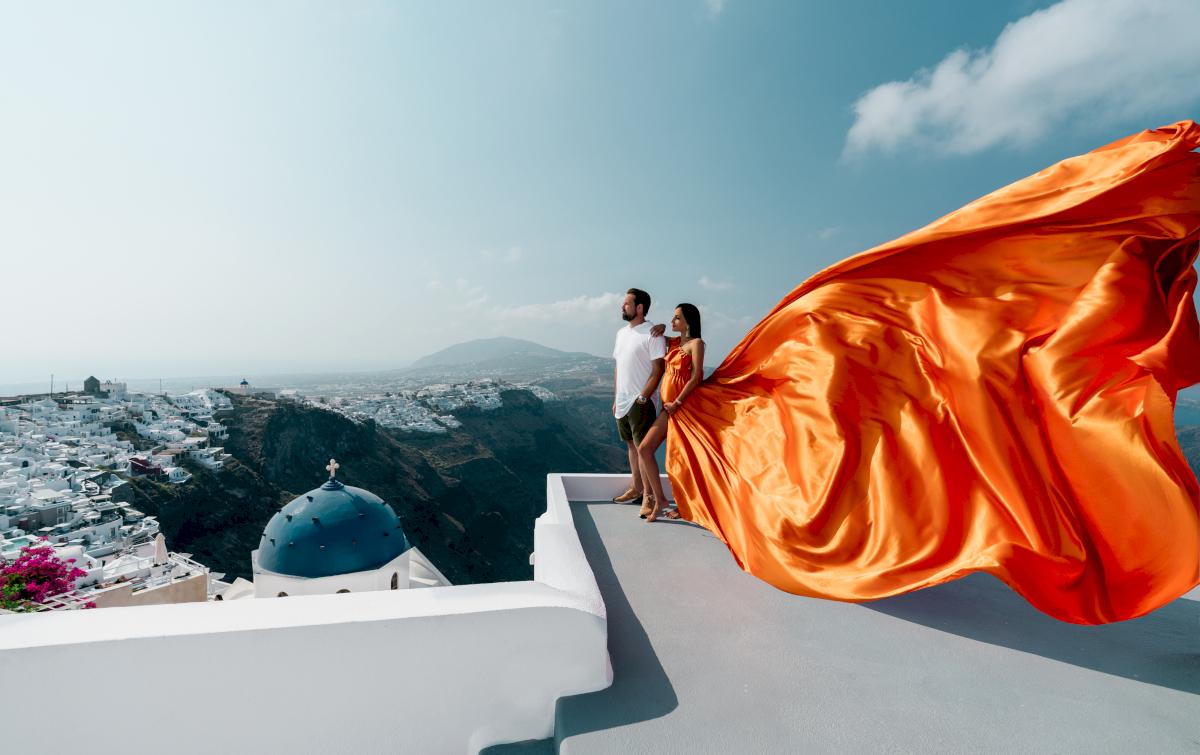Жасмин и Эрик: свадьба на санторини, свадебное агентство Julia Veselova - Фото 3