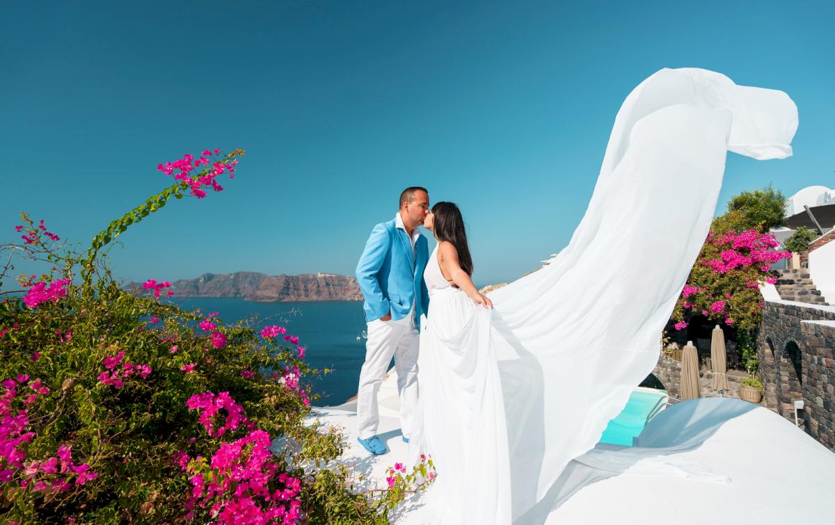 Иветта: свадьба на санторини, свадебное агентство Julia Veselova - Фото 7
