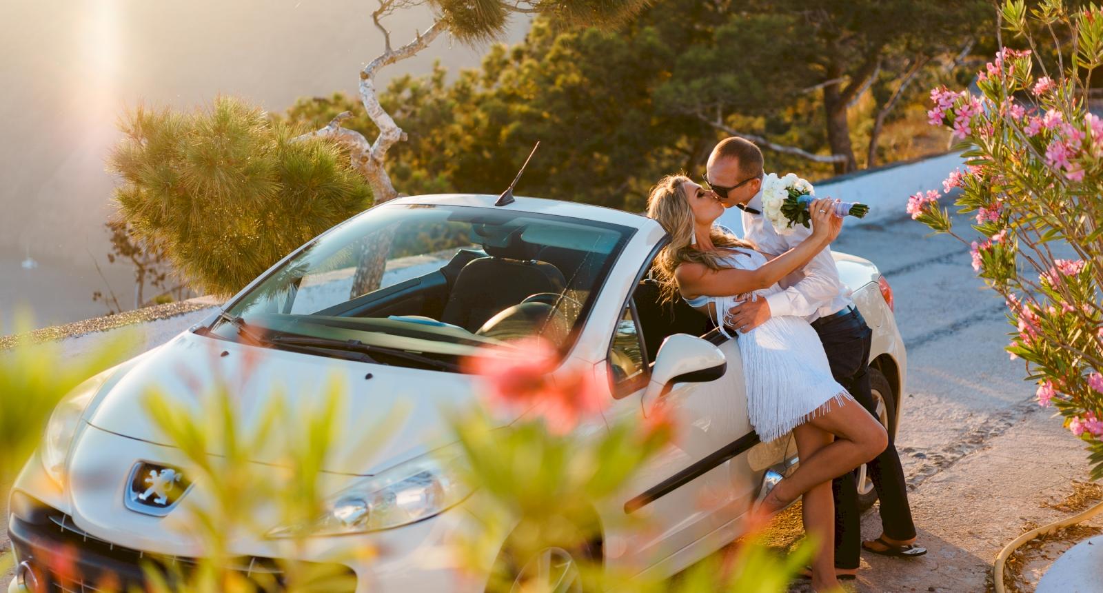 Елена и Олег: свадьба на санторини, свадебное агентство Julia Veselova - Фото 12