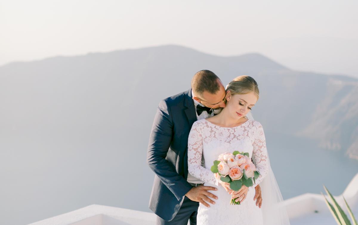 Алина и Cалех: свадьба на санторини, свадебное агентство Julia Veselova - Фото 6