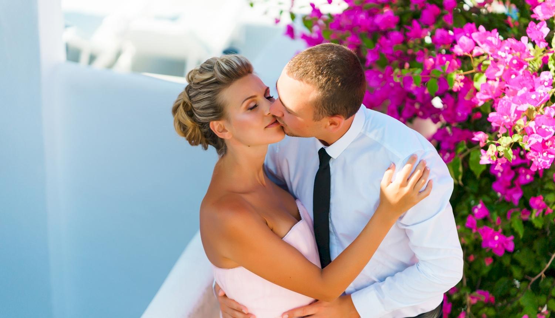 Инна и Сергей: свадьба на санторини, свадебное агентство Julia Veselova - Фото 4