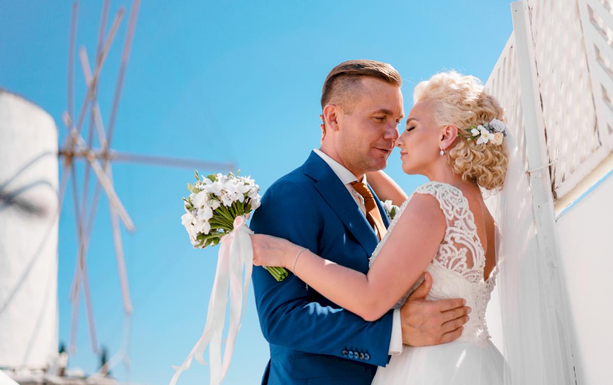 Екатерина и Андрей: свадьба на санторини, свадебное агентство Julia Veselova - Фото 12