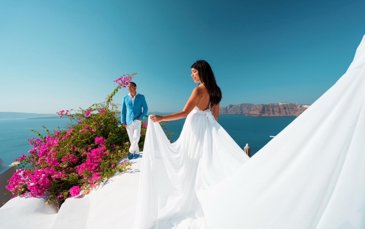 Иветта: свадьба на санторини, свадебное агентство Julia Veselova - Фото 9