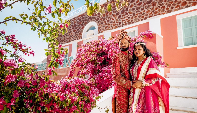 Deni and Kanshu: свадьба на санторини, свадебное агентство Julia Veselova - Фото 2
