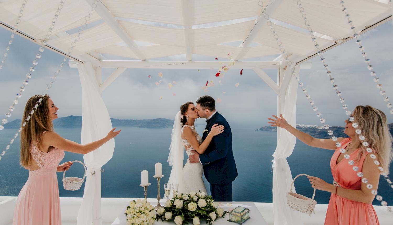 Юлия и Максим: свадьба на санторини, свадебное агентство Julia Veselova - Фото 7