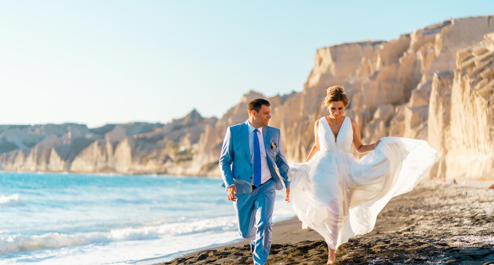 Мария и Алексей: свадьба на санторини, свадебное агентство Julia Veselova - Фото 1