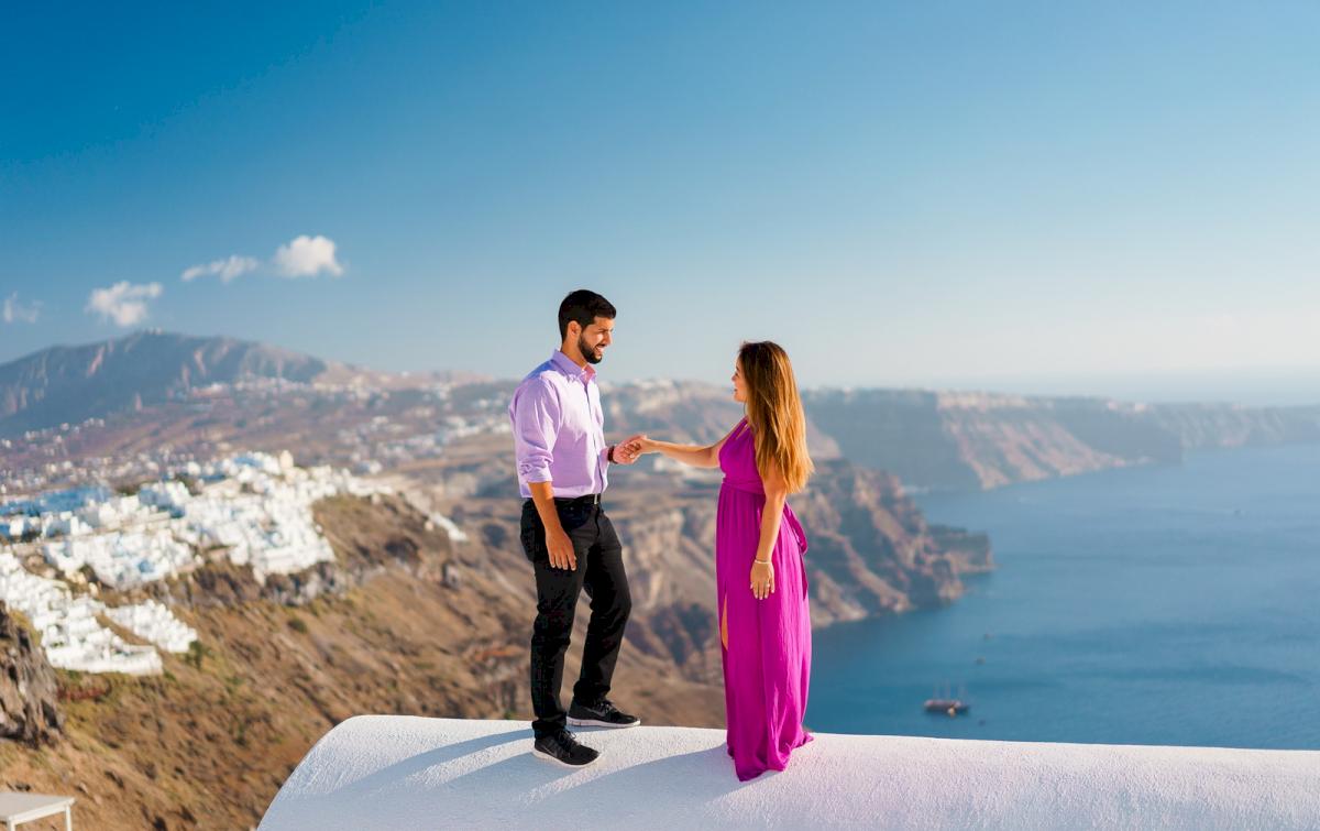 Levy Shady: свадьба на санторини, свадебное агентство Julia Veselova - Фото 17