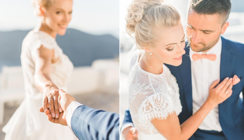 Ольга и Алексей: свадьба на санторини, свадебное агентство Julia Veselova - Фото 7