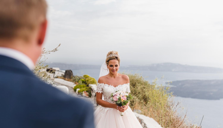 Darya & Jason: свадьба на санторини, свадебное агентство Julia Veselova - Фото 5